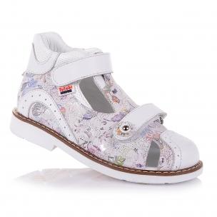 Дитяче взуття PERLINKA (Закриті ортопедичні босоніжки для дівчат )