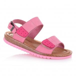 Дитяче взуття PERLINKA (Стильні рожеві босоніжки для дівчат)