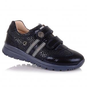 Дитяче взуття PERLINKA (Темно-сині кросівки для школи)