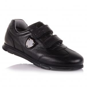Дитяче взуття PERLINKA (Шкіряні кросівки на липучках в школу)