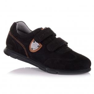 Дитяче взуття PERLINKA (Шкільні кросівки з нубуку та шкіри)