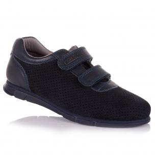 Дитяче взуття PERLINKA (Шкільні кросівки з перфорацією для хлопчиків)