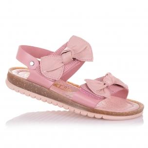 Дитяче взуття PERLINKA (Рожеві босоніжки з бантиками)