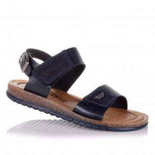Дитяче взуття PERLINKA (Шкіряні босоніжки з регульованим ремінцем для хлопчиків)