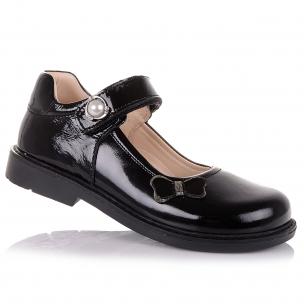 Дитяче взуття PERLINKA (Шкільні лакові туфлі з каблуком Томаса)