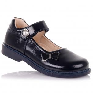 Дитяче взуття PERLINKA (Шкільні лакові туфлі з ортопедичною підошвою)