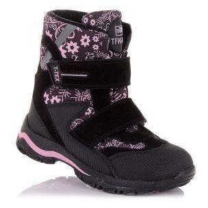 Дитяче взуття PERLINKA (Стильні зимові чоботи на липучках)