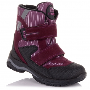 Дитяче взуття PERLINKA (Зимові чоботи на липучках для дівчаток)