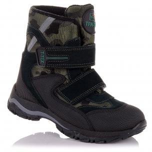 Дитяче взуття PERLINKA (Стильні зимові чоботи для хлопчиків)