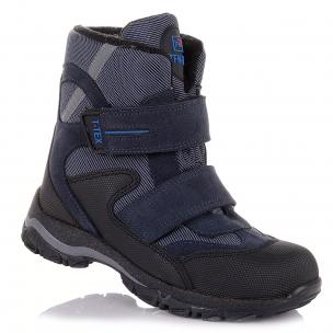 Детская обувь PERLINKA (Зимние сапоги из текстиля и замши )