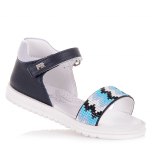 Дитяче взуття PERLINKA (Стильні босоніжки із закритою п'ятою )
