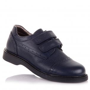 Детская обувь PERLINKA (Школьные туфли на липучках)