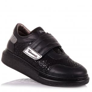 Детская обувь PERLINKA (Мокасины из кожи и нубука для школы)