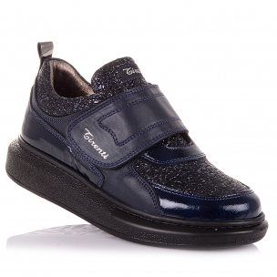 Детская обувь PERLINKA (Кожаные мокасины для школы)