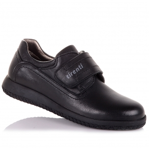 Детская обувь PERLINKA (Школьные мокасины на липучке)