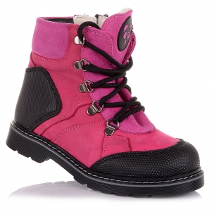 Детская обувь PERLINKA (Яркие зимние ботинки для девочки)