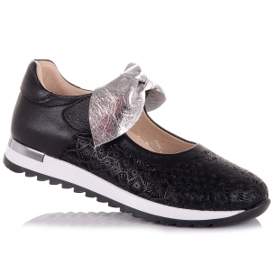 Детская обувь PERLINKA (Стильные школьные туфли на ребристой подошве)