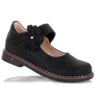 Дитяче взуття PERLINKA (Елегантні шкільні туфлі із натуральної шкіри)