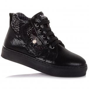 Детская обувь PERLINKA (Демисезонные ботинки из нубука, на шнурках)