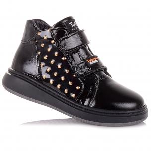 Детская обувь PERLINKA (Лаковые демисезонные ботинки с декором)