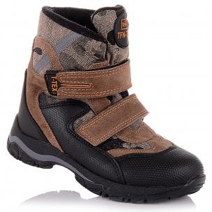 Дитяче взуття PERLINKA (Зимові чоботи із замші та текстилю)