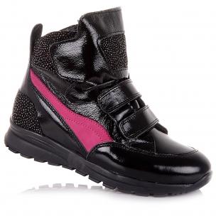 Дитяче взуття PERLINKA (Лакові демісезонні черевики із натуральної шкіри)