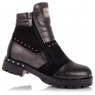 Дитяче взуття PERLINKA (Стильні демісезонні черевики на блискавці)