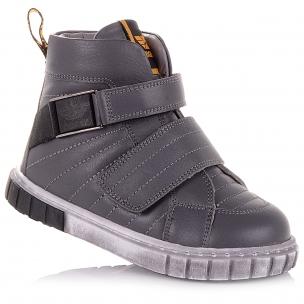Дитяче взуття PERLINKA (Шкіряні демісезонні черевики на липучках)
