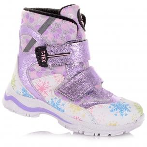 Детская обувь PERLINKA (Зимние сапоги из кожи и текстиля)