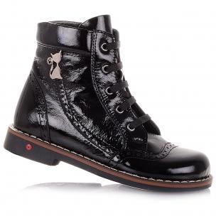Детская обувь PERLINKA (Лаковые ботинки на ортопедической подошве)