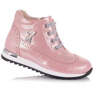 Дитяче взуття PERLINKA (Ніжно-рожеві демісезонні черевики )