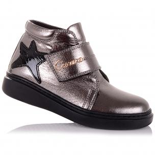 Дитяче взуття PERLINKA (Демісезонні шкіряні черевики на липучках)