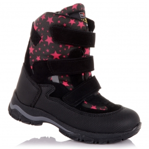 Дитяче взуття PERLINKA (Зимові чоботи з принтом )