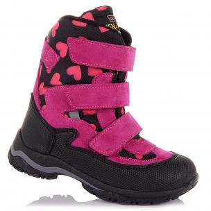 Детская обувь PERLINKA (Яркие зимние сапоги с принтом )
