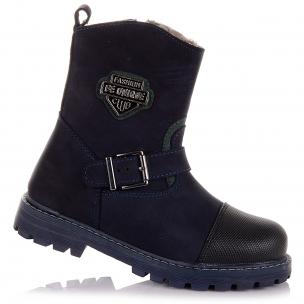 Детская обувь PERLINKA (Зимние сапожки из кожи и нубука)