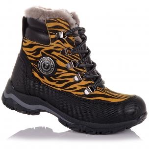 Дитяче взуття PERLINKA (Зимові черевики з анімалістичним принтом)