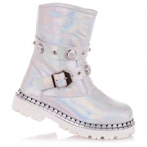 Дитяче взуття PERLINKA (Демісезонні шкіряні черевики з ремінцем)
