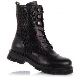 Дитяче взуття PERLINKA (Шкіряні демісезонні черевики на шнуровці)