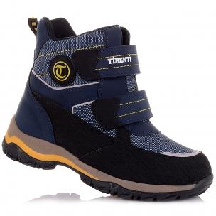 Дитяче взуття PERLINKA (Зимові черевики з текстилю, на липучках)