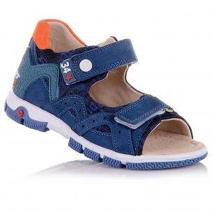 Дитяче взуття PERLINKA (Босоніжки з нубуку та текстилю)