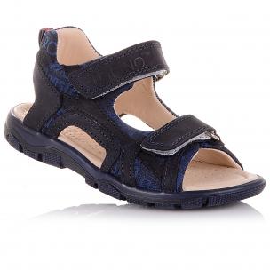 Дитяче взуття PERLINKA (Стильні босоніжки з нубуку та текстилю)