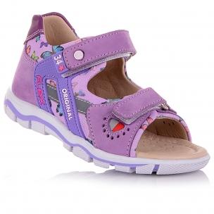 Дитяче взуття PERLINKA (Босоніжки на білій підошві)