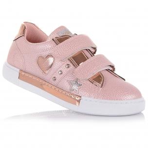 Дитяче взуття PERLINKA (Ніжно-рожеві кросівки на липучках)