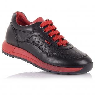 Дитяче взуття PERLINKA (Шкіряні кросівки на шнурках та блискавці)