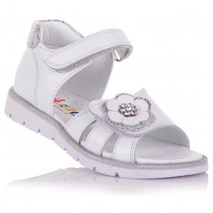 Дитяче взуття PERLINKA (Шкіряні босоніжки, прикрашені )