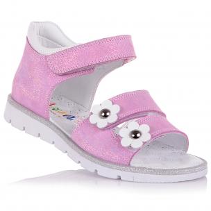 Дитяче взуття PERLINKA (Босоніжки з нубуку, на липучках)