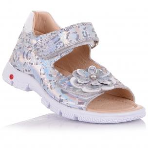 Дитяче взуття PERLINKA (Шкіряні босоніжки з принтом )