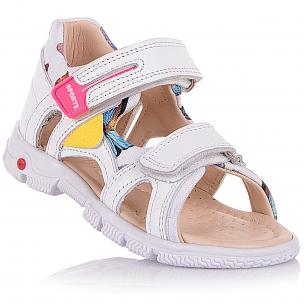 Детская обувь PERLINKA (Кожаные босоножки на липучках)