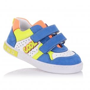 Дитяче взуття PERLINKA ( різнокольорові стильні мокасини на липучках)