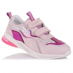 Дитяче взуття PERLINKA (Барвисті кросівки з нубуку)